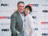 Theater couple Patrick Page and Paige Davis are all smiles for A Midsummer Night's Dream.
