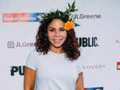 Two-time Tony nominee Daphne Rubin-Vega is ready to frolic in the forest!