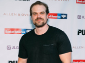 Stranger Things fave and Tony nominee David Harbour has arrived.