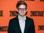 Broadway favorite Andrew Keenan-Bolger steps out to support his sister Celia Keenan-Bolger's opening night in A Parallelogram.