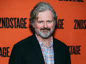 Tony nominee John Ellison Conlee steps out to support his wife Celia Keenan-Bolger's off-Broadway opening.