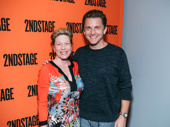 Theater couple Marin Mazzie and Jason Danieley snap a sweet pic.