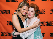 A Parallelogram's Celia Keenan-Bolger and Anita Gillette hug it out.