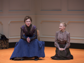 Julie White as Nora and Erin Wilhelmi as Emmy in A Doll's House, Part 2.