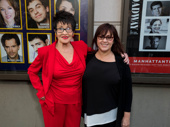 Two-time Tony winner Chita Rivera, who won the 1993 Tony Award for her performance in Kiss of the Spider Woman, attends the opening night of Prince of Broadway with her daughter, Lisa Mordente.