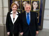 Broadway royalty alert! Carol Burnett and Harold Prince snap a pic.