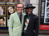 Kinky Boots' returning Tony winner Billy Porter and Adam Smith get together.