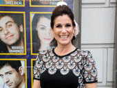 Stephanie J. Block cheers on her Falsettos friend Brandon Uranowitz on his opening night.