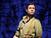 Ashley Parker Angel as Fiyero in Wicked.