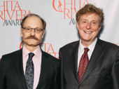 Hello, Dolly!'s David Hyde Pierce and his husband Brian Hargrove step out.