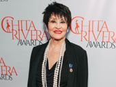 Two-time Tony winner and legendary Broadway performer Chita Rivera steps out for her namesake awards ceremony.