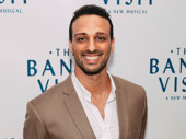 The Band's Visit's Ari'el Stachel is all smiles for his forthcoming Broadway debut.