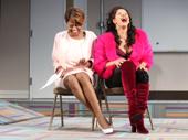Sandra Caldwell as Mama and Hailie Sahar as Ariela in Charm.