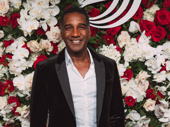 Tony nominee Norm Lewis takes a photo.