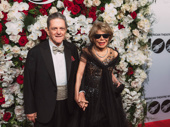 Tony nominee Sondra Gilman and her husband Celso Gonzalez-Falla attend the American Theatre Wing's centennial gala.