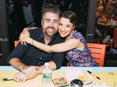 How adorable are School of Rock co-stars Eric Petersen and Jenn Gambatese?