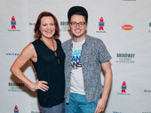 We're sure our Dear Evan Hansen vlogger Will Roland said something to crack Jennifer Laura Thompson up on the red carpet.