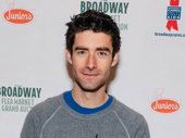 Waitress fave Drew Gehling steps out.