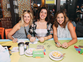 You can sit with us! Mean Girls' Taylor Louderman, Barrett Wildbert Weed and Erika Henningsen hit the autograph table.