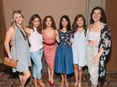 Girl power! Taylor Louderman, Erika Henningsen, Bernadette Peters, Ali Ewoldt, Laura Osnes and Barrett Wilbert Weed take the ultimate Broadway girl gang photo.