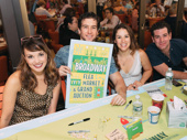 Beautiful's Kara Lindsay, Evan Todd, Chilina Kennedy and Ben Jacoby snap a fun group shot at the autograph table.