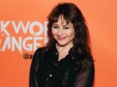 Tony winner Frances Ruffelle attends the off-Broadway opening of A Clockwork Orange.