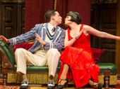 Alex Mandell and Amelia McClain in The Play That Goes Wrong.