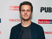Broadway favorite Jonathan Groff steps out.