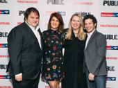 Tiny Beautiful Things conceiver Marshall Heyman, adaptor/star Nia Vardalos, book author Cheryl Strayed and director Thomas Kail get together.