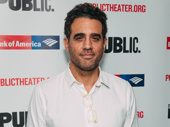 Two-time Tony nominee Bobby Cannavale attends opening night of Tiny Beautiful Things.