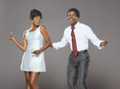 Trenyce as Diana Ross & Kenneth Mosley as Berry Gordy in Motown The Musical