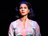 Nancy Ticotin as Gloria Fajardo in the national tour of On Your Feet.
