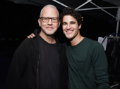Glee and American Crime Story mastermind Ryan Murphy reunites with Darren Criss at Elsie Fest.(Photo: Jenny Anderson/Getty Images)