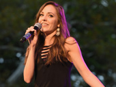 Broadway favorite Laura Osnes hits the stage.(Photo: Jenny Anderson/Getty Images)