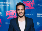 On Your Feet! Broadway alum Ektor Rivera looks sharp.