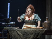 Allison Guinn as Madame Thenardier in Les Miserables