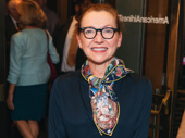 Tony winner Julie White steps out for a night at the theater.