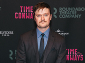 Time and the Conways' Steven Boyer hits the red carpet.