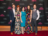 Time and the Conways' understudies Ben Diskant, Kim Martin-Cotten, Amanda Leigh Cobb, Kate McGonigle and Stuart Ward get glam for opening night.