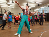"SpongeBob SquarePants' Gavin Lee slays the tap number ""I'm Not a Loser."""