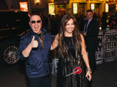 Music mogul Tommy Mottola and songstress Thalía are on the scene.
