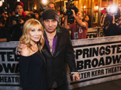 E-Street band member Steven Van Zandt attends opening night of Springsteen on Broadway with his wife Maureen Van Zandt.