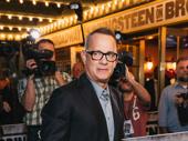 Oscar winner Tom Hanks has arrived.