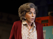 Mercedes Ruehl as Mrs. Beckoff in the off-Broadway production of Torch Song.