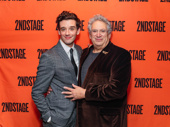 Full circle! Michael Urie hits the red carpet with Torch Song Trilogy scribe and original star Harvey Fierstein.