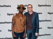 Jesus Hopped the A Train's star Edi Gathegi and director Mark Brokaw get together.