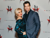 Theater couple Orfeh and Andy Karl spend date night at opening night of M. Butterfly.