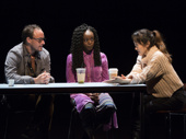 Greg Keller, Adeola Role and Sue Jean Kim in Office Hour.