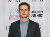 Two-time Tony nominee Jonathan Groff steps out for a great cause.