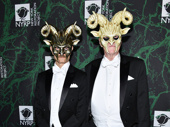 Hello, Dolly!'s David Hyde Pierce steps out for Midler's spooky Halloween party with his husband Brian Hargrove.